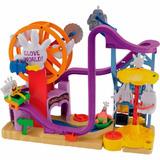 Brinquedo Imaginext Bob Esponja Mundo Da Luva Mattel Bfr65