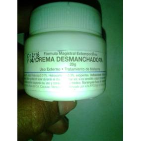 Crema Colombiana Desmanchadora Despigmentante 20gr