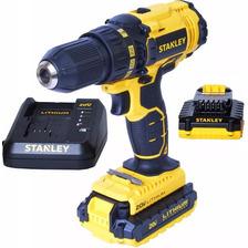 Taladro Stanley 20v Inalambrico Scd20c2 13mm + 2 Baterias