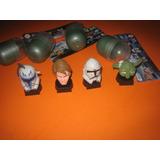 Star Wars Cabezas Coleccionables Huevo Chocolate 2013 S /uso