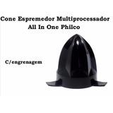 Cone Espremedor Multiprocessador All In One Philco