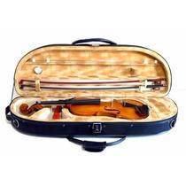 Estojo Case Meia Lua Para Violino 4/4 Luxo Termico