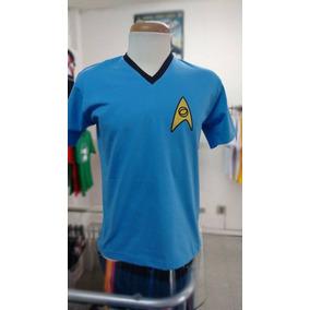 Camiseta Star Trek Jornada Nas Estrelas Uniforme Exclusiva