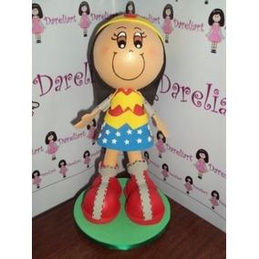 Boneca Mulher Maravilha Em Eva 3d 15 Cm - Liga Da Justiça