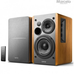 Monitor De Áudio Ativo R1280t Edifier 42w Rms Frete Grátis