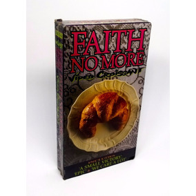 Fita Vhs Faith No More Video Croissant 1993 Original Import.