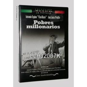 Clavillazo Pobres Millonarios Dvd Comedia Película Mexicana