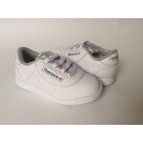 Tenis Zapato Zapatillas Colegial Blanco Niños Niñas