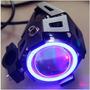 Neblinero Foco Led Moto 10w 3 Modos + Angel Eyes 5w