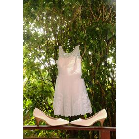 Lindo Vestido De Noiva (curto)