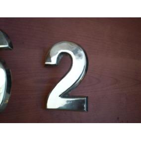 Numeros De Casa En Bronce 12cm