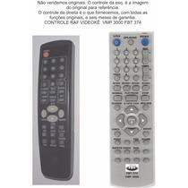Controle Raf Videokê Vmp 3000 Fbt 374