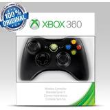 Controle Xbox 360 Wireless Sem Fio 100% Original Microsoft