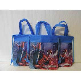 Dulceros Spiderman Fiestas 10 Bolsas Recuerdos Regalos Bolos