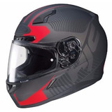 Casco Hjc Integral Cl-17 Mission Mc-1f Negro Mate