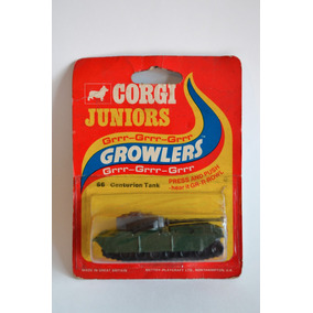 Corgi Juniors 66 Growlers: Centurion Tank. Dolphin Rain