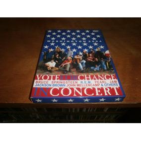 Pearl Jam Bruce Springsteen Rem Vote For Change 2 Dvd