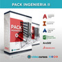 Pack Ingenieria Ii,(autocad 2017,msproject 2013,arcgis 10.1)