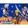 Kit Imprimible Naruto Shippuden Candy Bar Invitaciones Y Mas