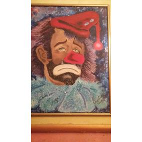 Pintura Payaso Triste