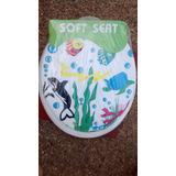 Tapa / Asiento Poceta Sanitario Acolchado Soft Seat Standar