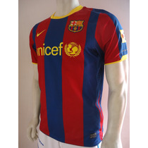 Playera Barcelona 2010 Code 7 Messi