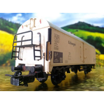 40 Trenes Escala Ho Marklin Vagon De Carga Kuhlwagen $250