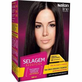 Salon Line Kit Selagem Redutora Cabelo Ondulado E Volumoso