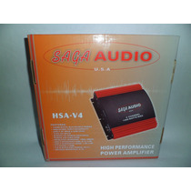 Amplificador Saga Audio Planta De Carro Hsa-v4 1200w