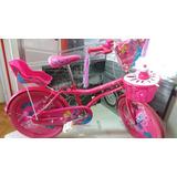 Bicicletas Para Niña Rin 20 Importada Gw Con Porta Muñecas