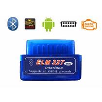 Ferramenta Autodiagnóstico Obd Scanner Elm327 Bluetooth V2.1