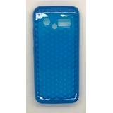 Capa De Silicone Azul Para Celular Lg Gx200 2 Chip