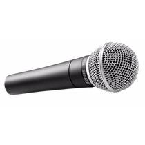 2 Microfone Shure Sm 58 Lc (frete Grátis - Promoção)