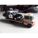 Miniatura Caminhão Mercedes Benz L-608 D 608d Guincho 1:43