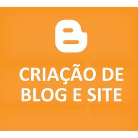 Blog E Site Pronto Profissional Blogspot Blogger Completo