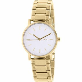 Envio Gratis Reloj Dkny Soho Dorado Modelo Ny2343 Oferta