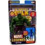 Figura Marvel Legends Serie 1 De 9 Apariencia Gris Hulk (va