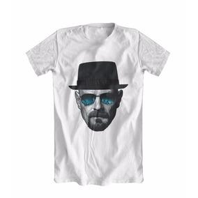 Camiseta Camisa Breaking Bad Heisenberg Walter White Pinkman