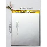 Tablet Genesis Gt 7250 3.7v 2650 Mha 7,2 Cm / 9,7cm 3 Fios