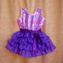 Disfraz Vestido Violetta En Mi Mundo Talle 4