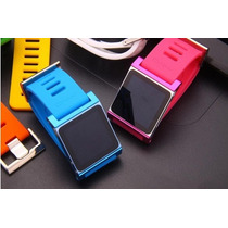 Lunatik Extencible Aluminio Caucho Colores Ipod Nano Touch 6
