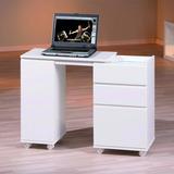 Escrivaninha Mdf Office Branca- Wood Prime
