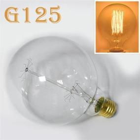 Lâmpada Vintage Retrô Edison Filamento Carbono G125 E27