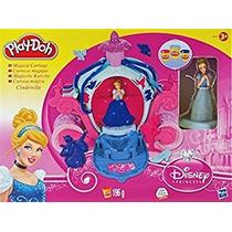 Juguete Juego De Doh Disney Princess Cinderella Mágica Carr