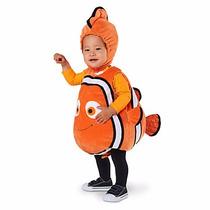 Traje Nemo Bebé Disfraz Disney Store Talla 3-6 Meses