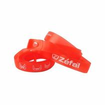Corbatas Zefal Para Rin De Bicicleta Mtb De 22mm 26 Roja