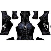 Patrón Spiderman 3 Traje Negro Listo Para Sublimar Cosplay