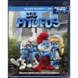 Los Pitufos - Bluray + Dvd Originales Nuevo Sellado
