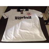 Camisa Corinthians Tintas Suvinil Réplica De 1996 Branca 9