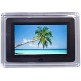 Porta Retrato Digital Tela 7 Lcd Controle Usb Pen Drive Sd